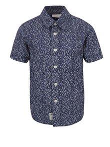 Tmavě modrá klučičí vzorovaná košile name it Klower