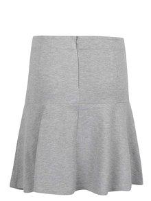 Sivá áčková sukňa VILA Riasta