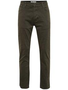 Tmavě zelené slim fit džíny Burton Menswear London