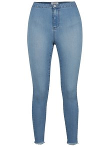 Pantaloni albastri Miss Selfridge din denim