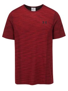 Tricou vișiniu Under Armour UA Threadborne Knit pentru bărbați