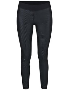 Čierne dámske funkčné legíny Under Armour Printed Legging