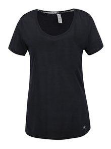 Černé dámské funkční tričko Under Armour Threadborne Streaker
