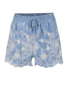 Pantaloni scurți albaștri Apricot din denim