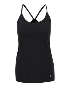 Top negru Under Armour Favorite Shelf Bra Cami