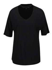 Tricou negru Tally Weijl cu decupaj