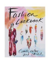 Kniha aktivit s módní tematikou deník Galison
