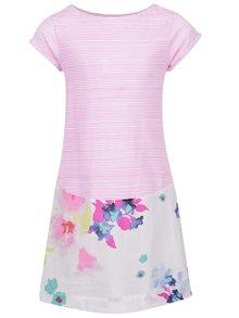Rochie roz Tom Joule cu imprimeu floral pentru fete