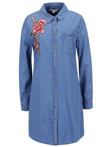 Modré džínové šaty Apricot