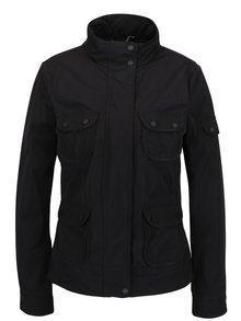 Čierna dámska ľahká bunda s vreckami Geox