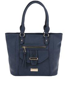 Tmavě modrá kabelka do ruky Hampton Kalene