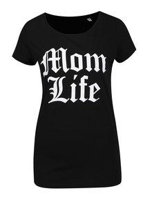 Černé dámské tričko ZOOT Originál Mom life