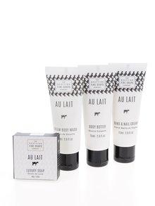 Darčeková súprava dámskej kozmetiky Au Lait The Scottish Fine Soaps