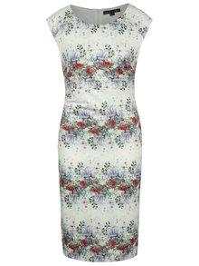 Krémové šaty s kvetovanou potlačou Smashed Lemon