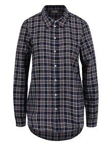 Ružovo-modrá flanelová kockovaná košeľa VERO MODA Check