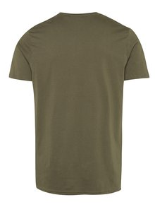 Khaki basic tričko Burton Menswear London