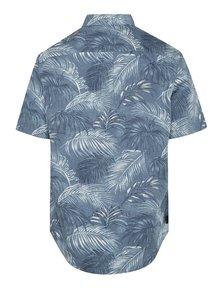 Modrá vzorovaná košeľa Original Penguin Fern