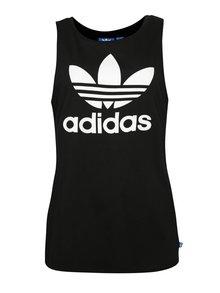 Čierne dámske tielko s logom adidas Originals
