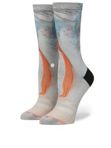 Béžové dámské ponožky Stance Morning Marble