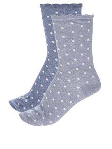 Sada dvou párů dámských ponožek v modré barvě Tommy Hilfiger Classy cocktail