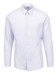Svetlomodrá slim fit košeľa s jemným vzorom Selected Homme Onesid