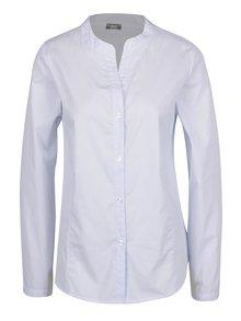 Svetlomodrá pruhovaná košeľa bez goliera ZOOT