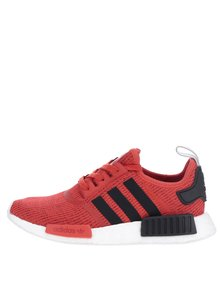 Pantofi sport roșu & negru adidas Originals NMD
