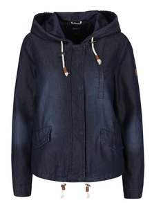 Tmavě modrá bunda s kapucí ONLY Skylar