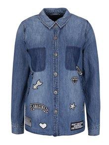 Modrá rifľová bunda ONLY Bech