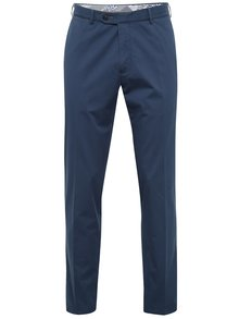 Pantaloni albaștri chino bugatti pentru bărbați