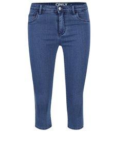 Pantaloni albaștri 3/4 ONLY Rain din denim
