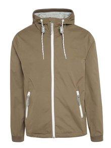 Jachetă maro Ragwear cu glugă