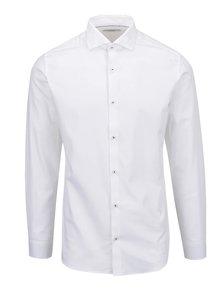 Biela formálna slim fit košeľa s dlhým rukávom Jack & Jones Tim