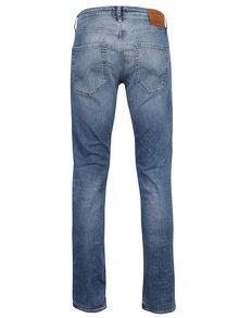 Světle modré slim fit džíny s potrhaným efektem Jack & Jones Tim Original