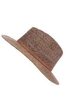 Světle hnědý klobouk s páskem Roxy In the Sunshine