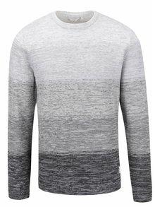 Sivý vzorovaný sveter Jack & Jones Denos