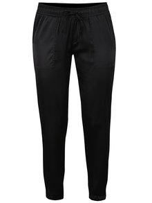 Černé lesklé kalhoty TALLY WEiJL