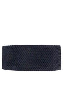 Tmavě modrá úpletová kravata Selected Homme Neal