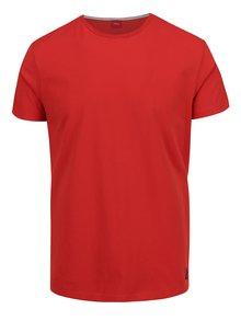 Červené pánské triko s krátkým rukávem s.Oliver
