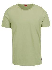 Svetlozelené pánske tričko s krátkym rukávom s.Oliver