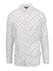 Bílá košile se vzorem v podobě origami Jack & Jones Choppy