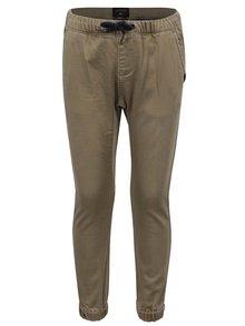 Béžové klučičí kalhoty Quiksilver