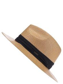 Hnědý klobouk s černým pruhem Roxy Here