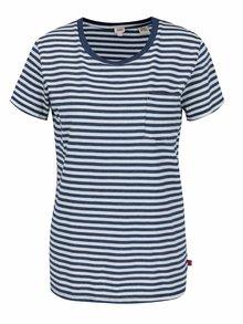 Modré dámske pruhované tričko Levi's®
