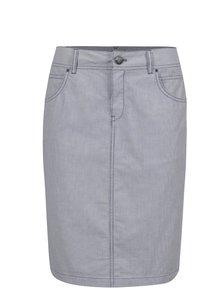 Světle modrá vzorovaná sukně  s.Oliver