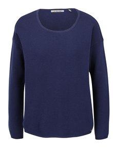 Bluză albastru închis Rich & Royal din jerseu