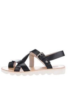 Čierne kožené sandále Pikolinos Albufera