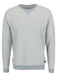 Bluză gri Pepe Jeans Dennis cu model în dungi