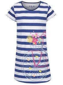 Rochie albastru & alb 5.10.15. cu model în dungi