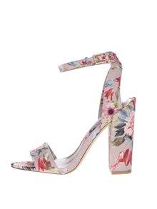 Ružové kvetované sandále ALDO Miyaa